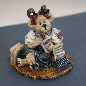 Boyds Bear Accents - Boyds Bear Bearstone Boss Take this Job and .Resin